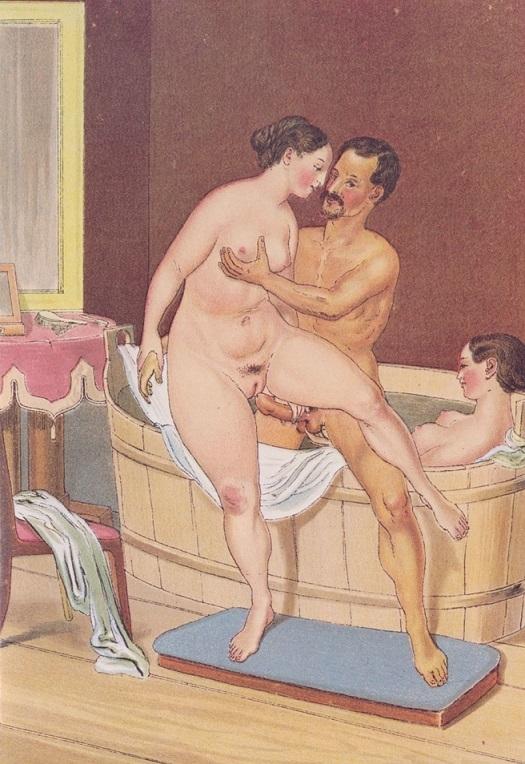 Peter Fendi bathing scene