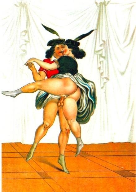 Peter Fendi dancers