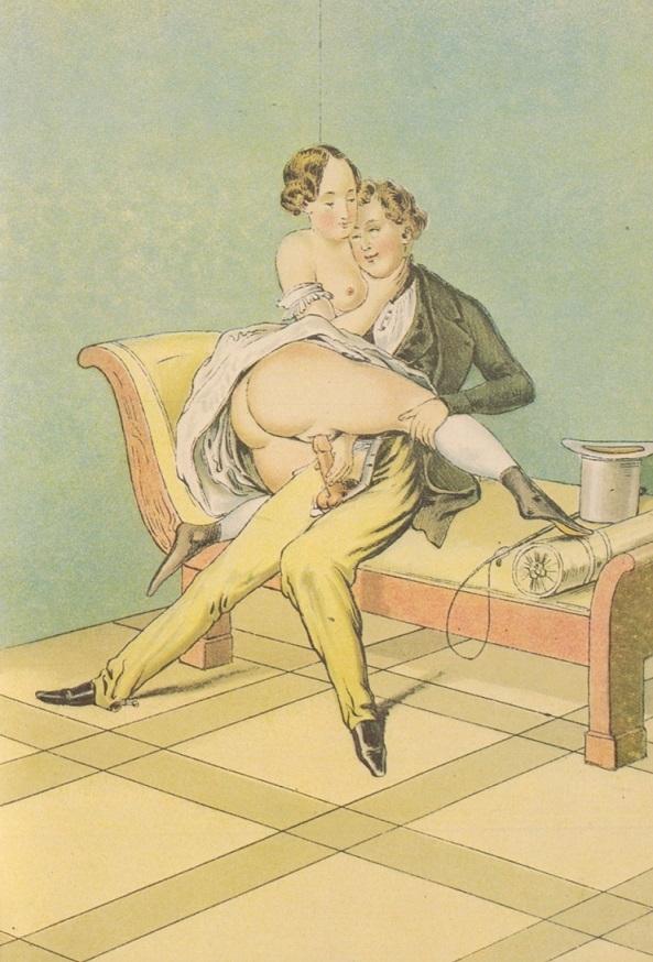 Peter Fendi erotic