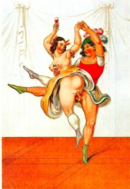 Peter Fendi erotic dancers