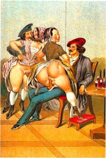 Peter Fendi erotic print
