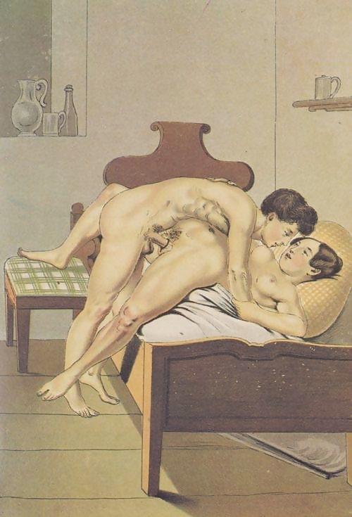 Peter Fendi on bed