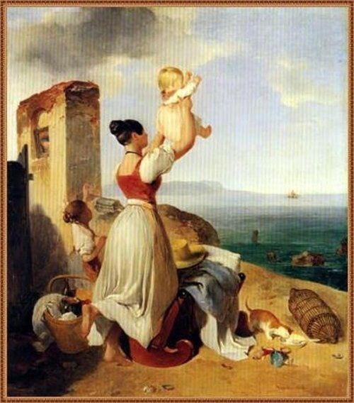 Peter Fendi painting