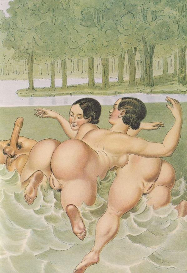 Peter Fendi Swimmers