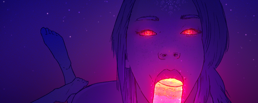 The Psychedelic Erotic GIFs by PHAZED Will Leave You Amazed