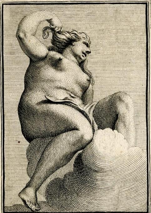 picart A female bather.