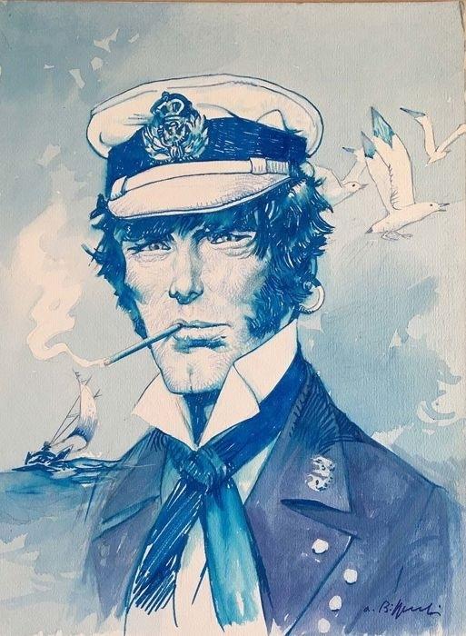 Portrait of Corto Maltese