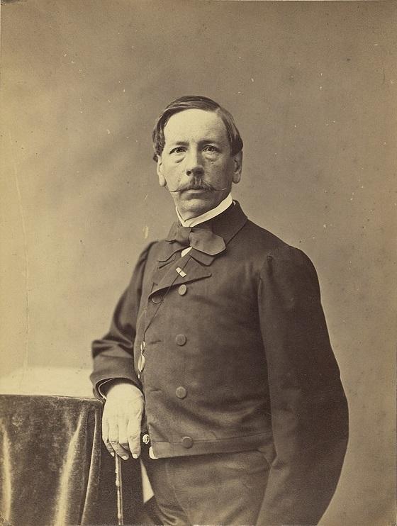 Portrait of Eugène Lepoittevin by Nadar