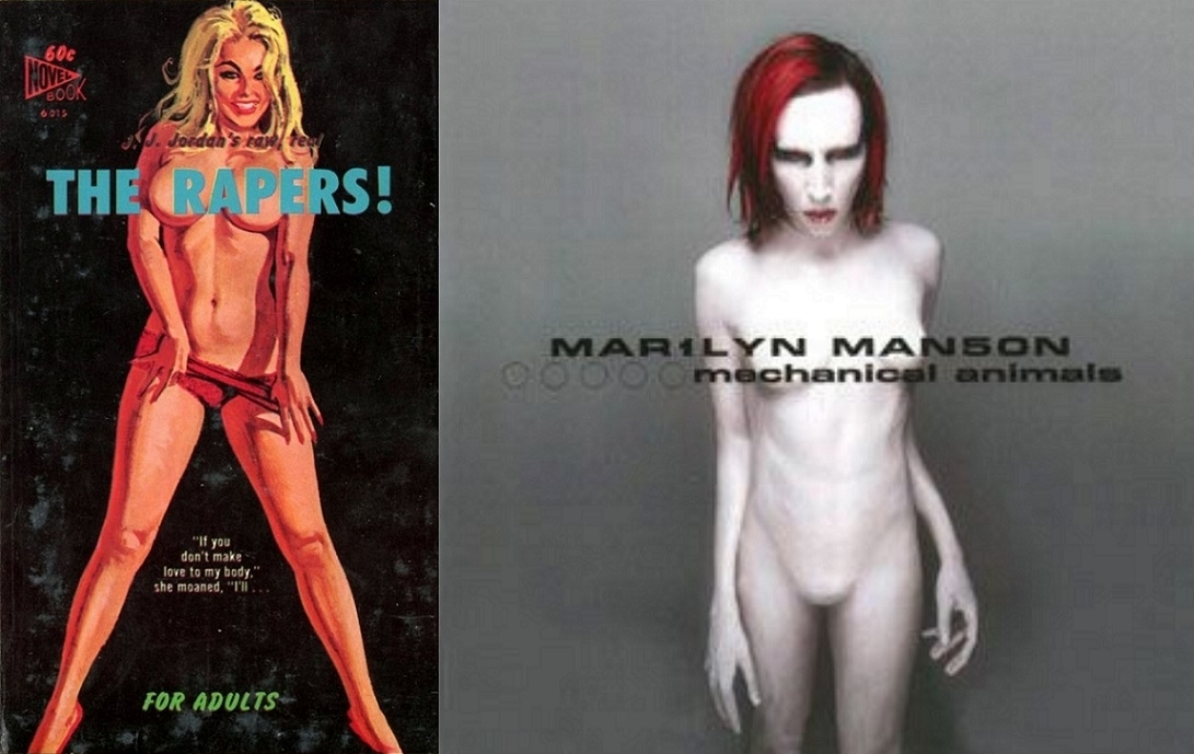 Pulp Cover Marilyn Manson cover Mechanical Animals