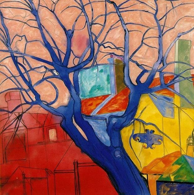 R. B. Kitaj the oak tree