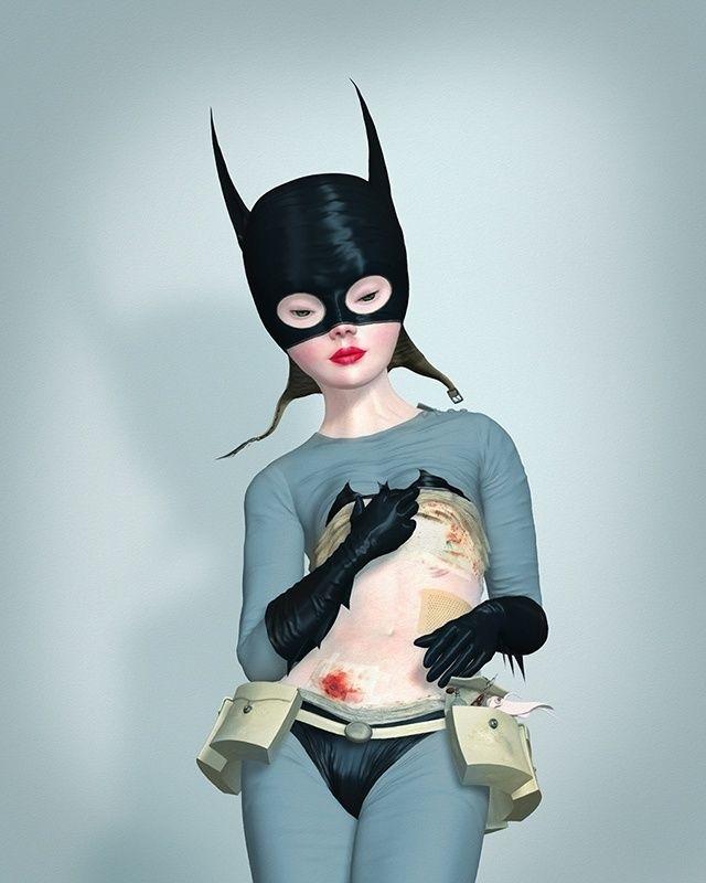 Ray Caesar Batgirl