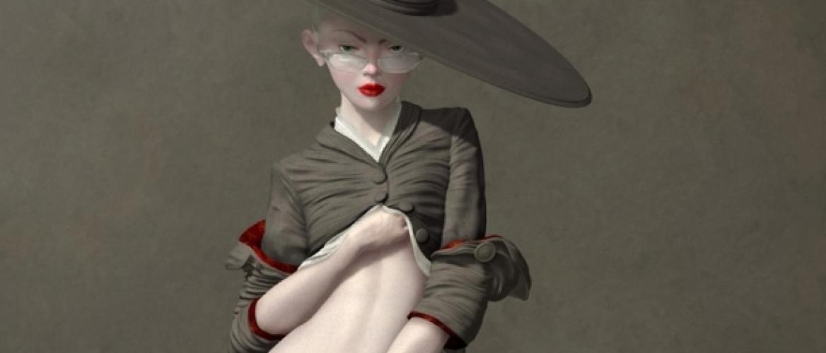 The Outlandish Voluptuousness of the Digital Pop Surrealist Ray Caesar