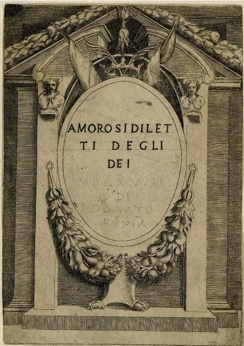 Renaissance Artist Guilio Bonasone