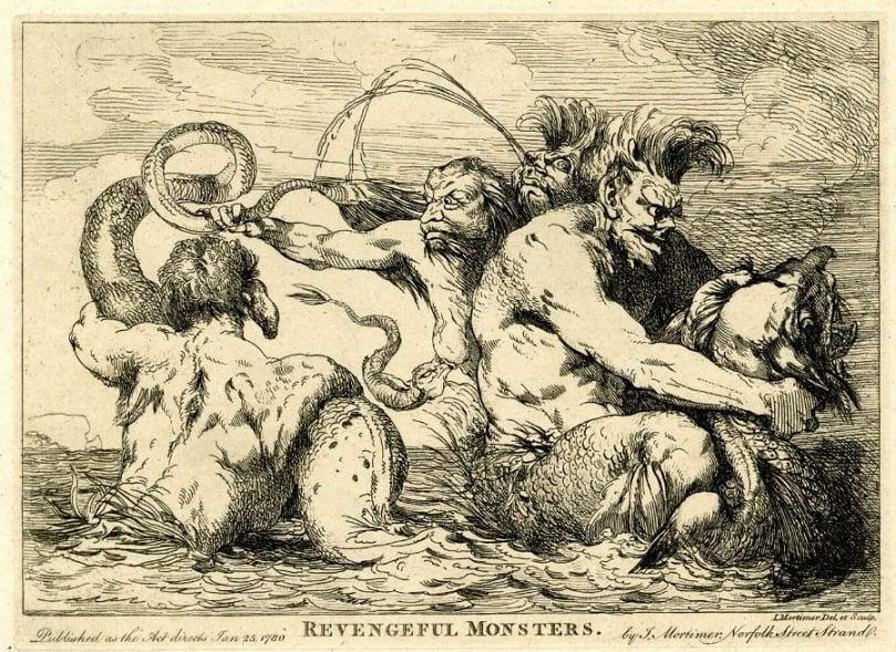 Revengeful Monsters mortimer