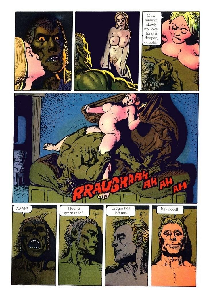 richard corben erotic page