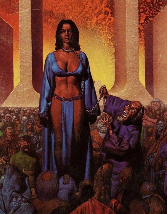 richard corben female slave
