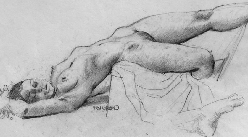 richard corben nude study