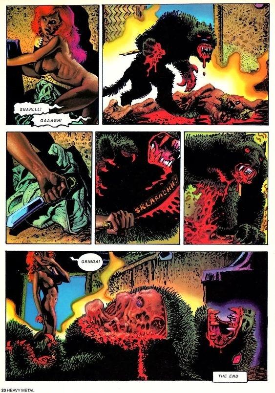 richard corben werewolf