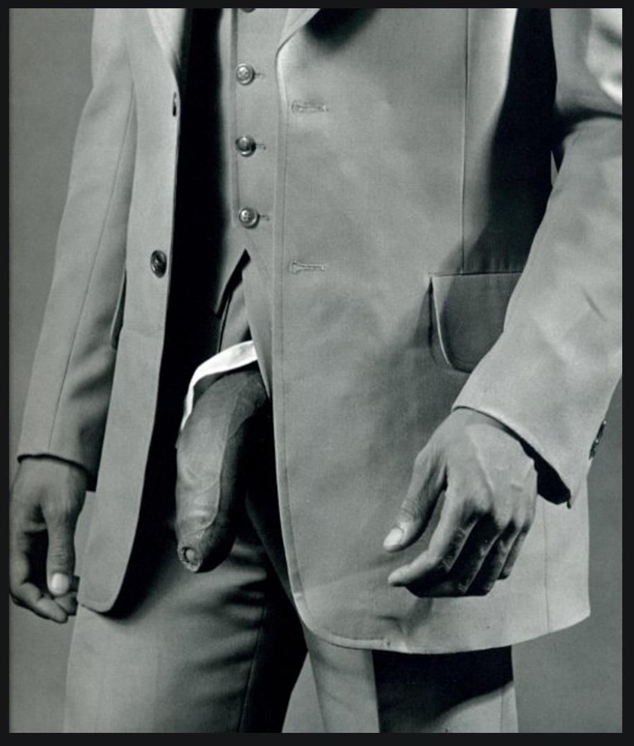 Robert Mapplethorpe Man in Polyester Suit