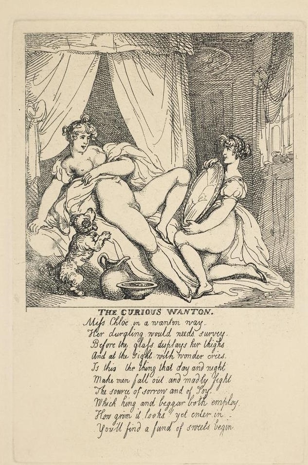 rowlandson hotten The Willing Fair, or Any Way to Please Rowlandson