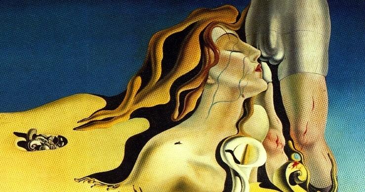 Salvador Dali painting masturbator