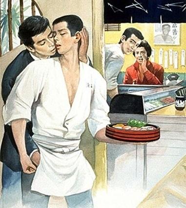 secret gay encounter art