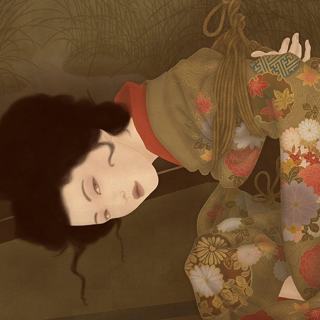 Senju Shunga close up