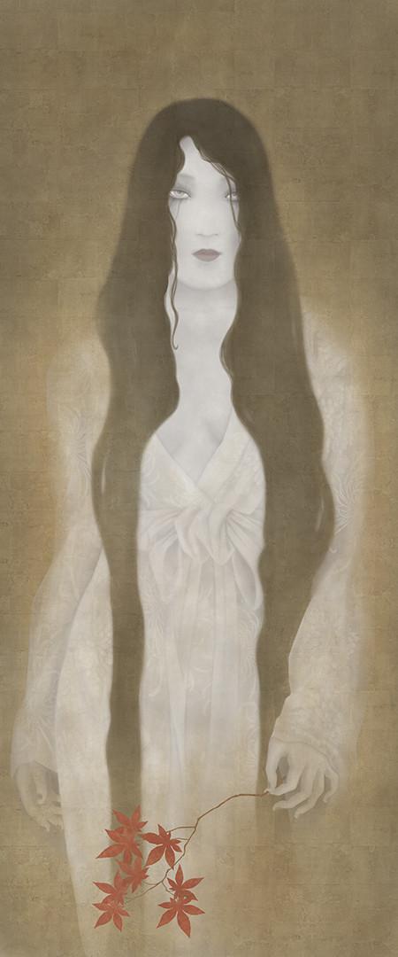 senju shunga ghost painting