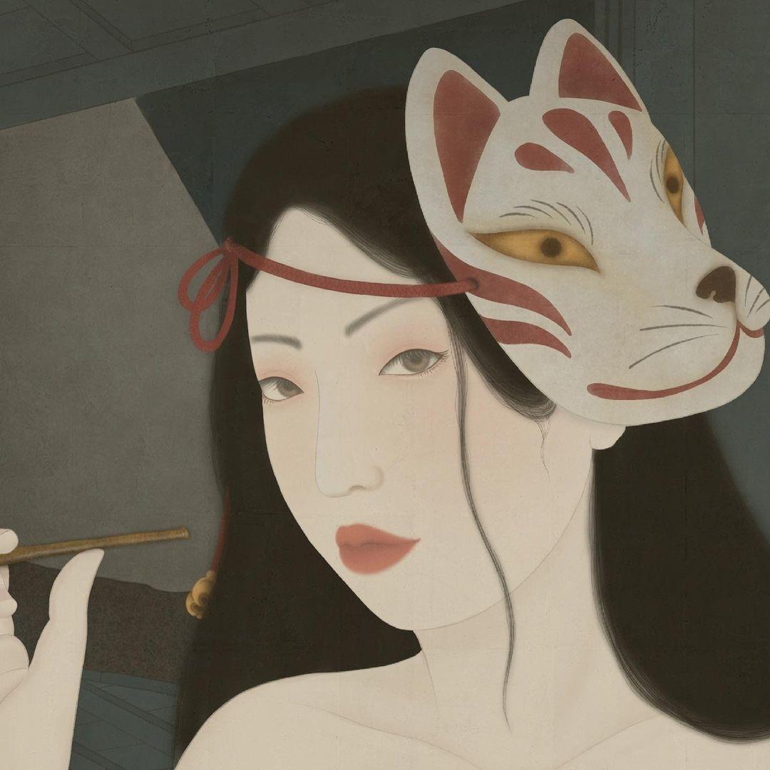 senju shunga 'Hotaru Fireflies)