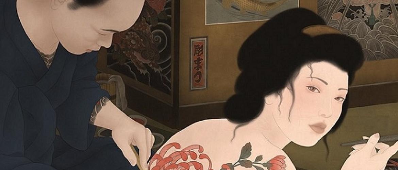 Sensual Homage to the Traditional Irezumi Tradition by Senju Shunga