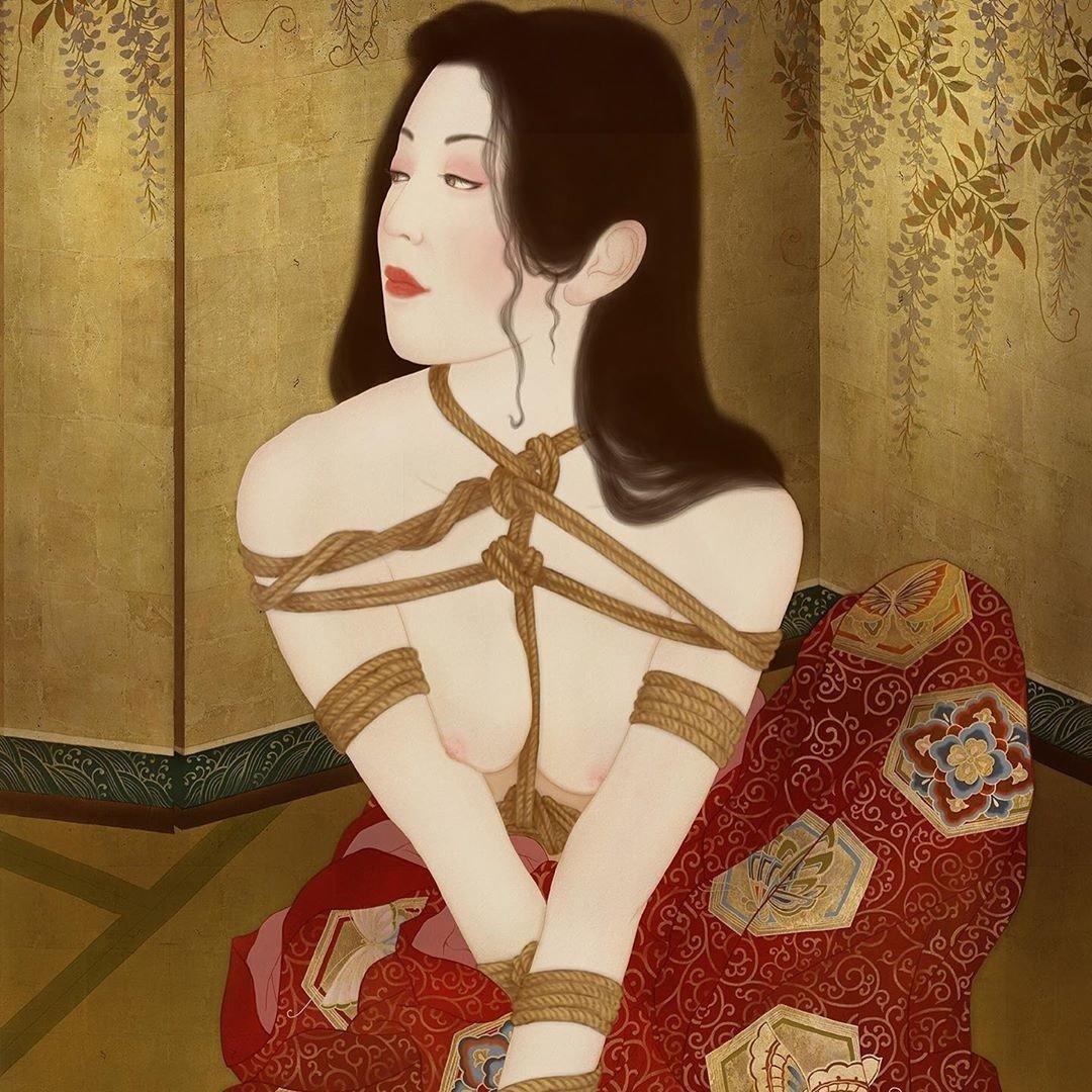 senju shunga painting