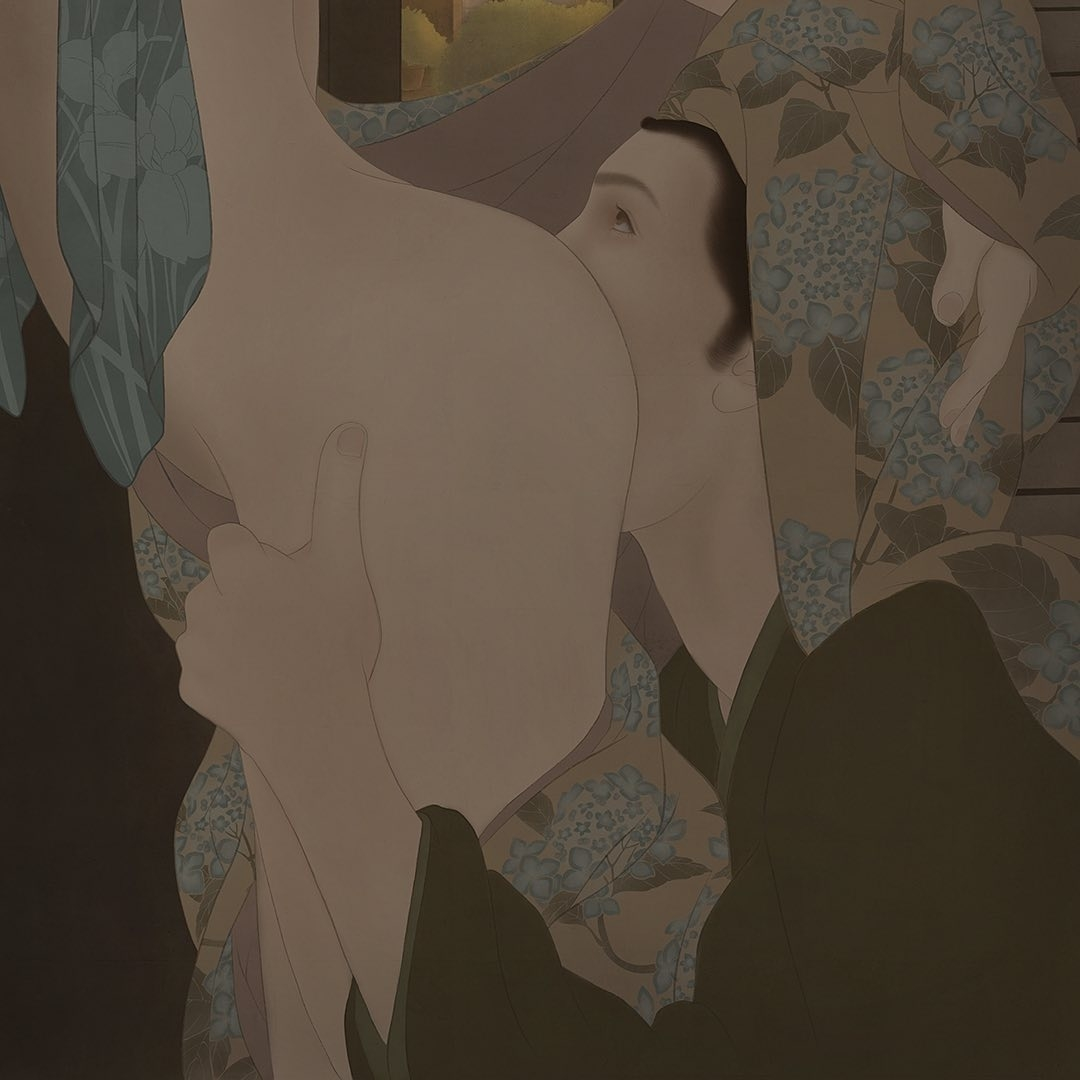 senju shunga painting shade