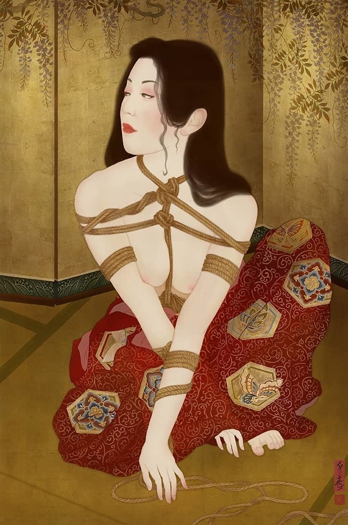 senju shunga paintings