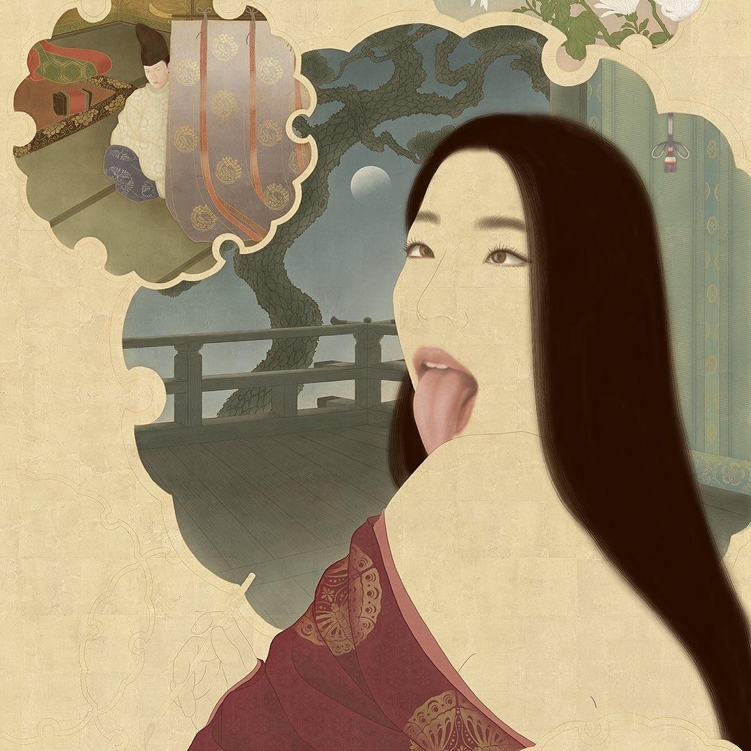 Senju Shunga's Makura no Sōshi