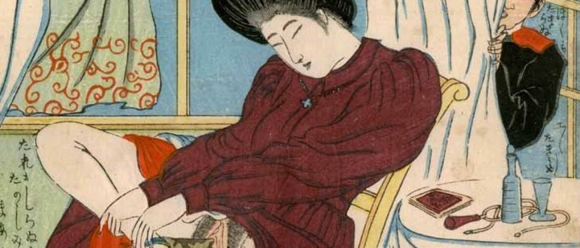 The Sensual Fantasies of Lonesome Masturbating Beauties