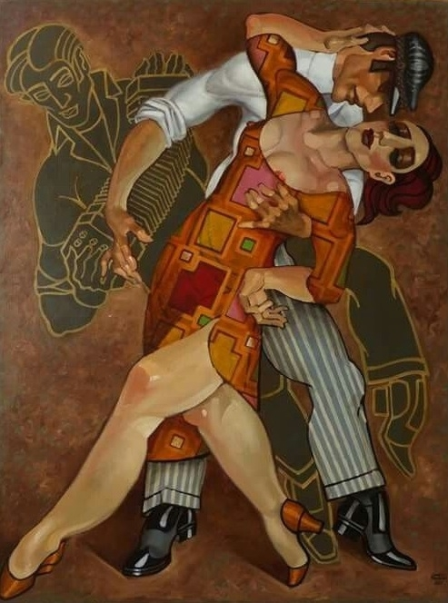 sensual tango art juarez