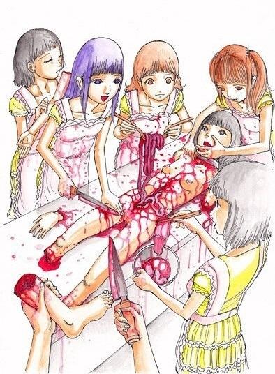 Shintaro Kago horror
