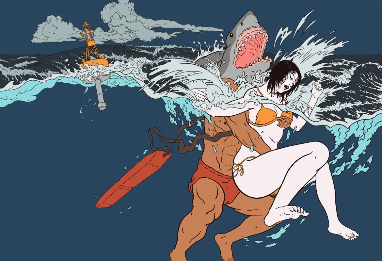 Painting surf rescue - Pigo Lin Interview