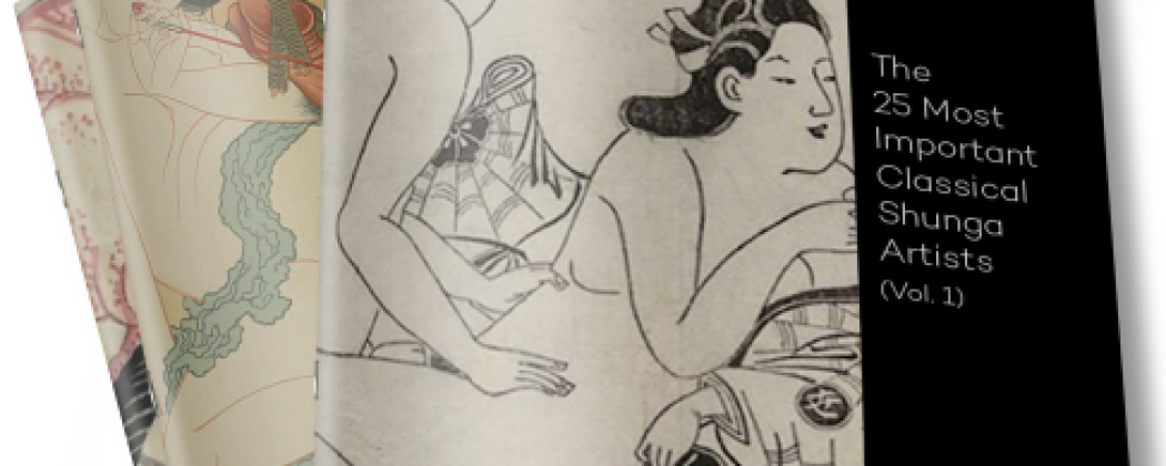 Free eBook on the 25 Most Important Classical Shunga Artists
