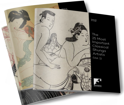 Volume 1 of The 25 Most Important Classical Shunga Artists