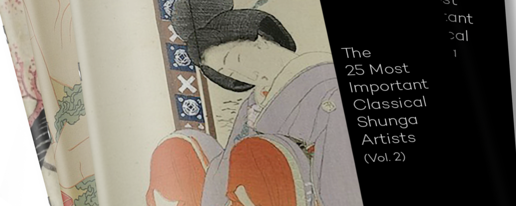 New Free eBook 'The 25 Most Important Classical Shunga Artists (Vol.2)'