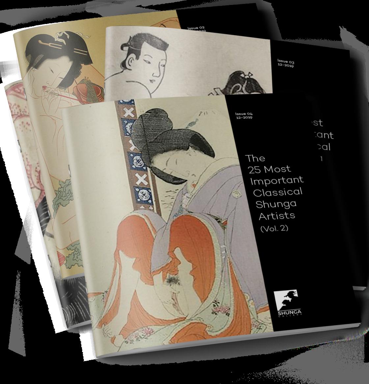 shunga artists: eBook volume 2