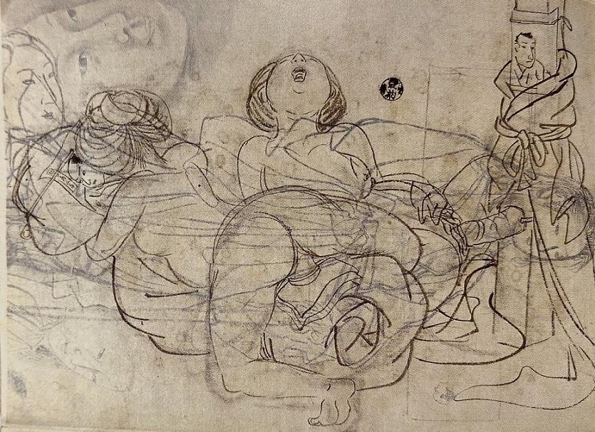 shunga sketch