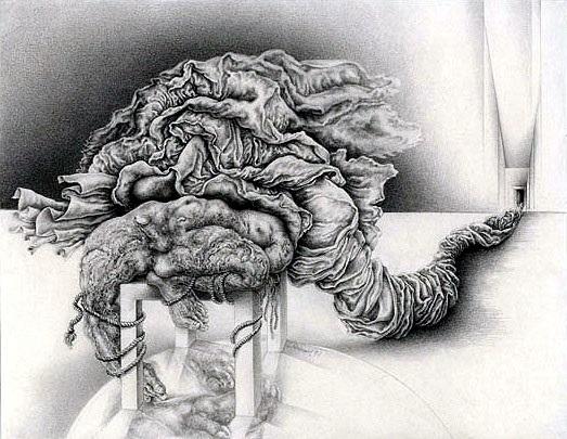 Sibylle Ruppert drawings