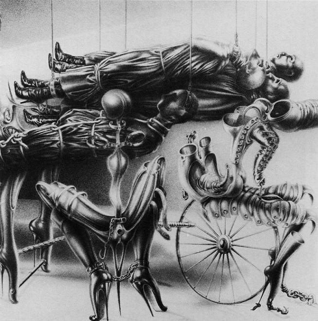 Sibylle Ruppert erotic art