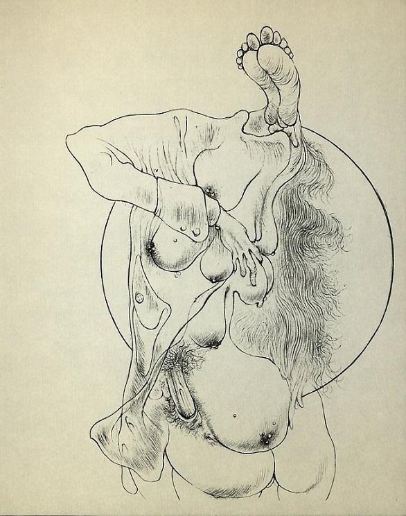 Sibylle Ruppert sketch