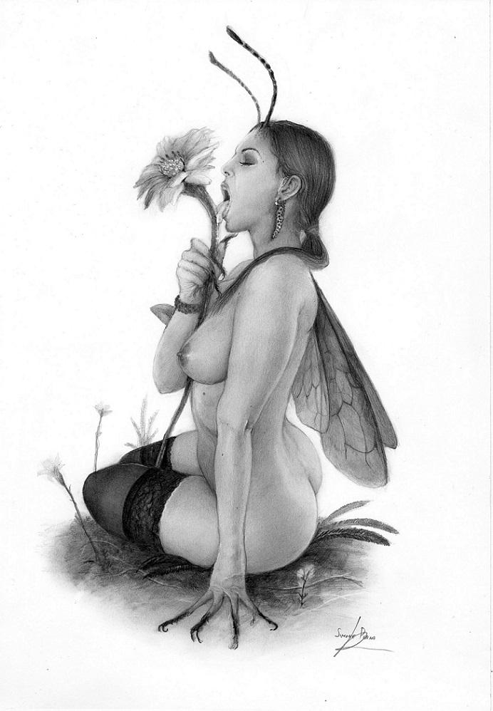 simone pinna flower lover
