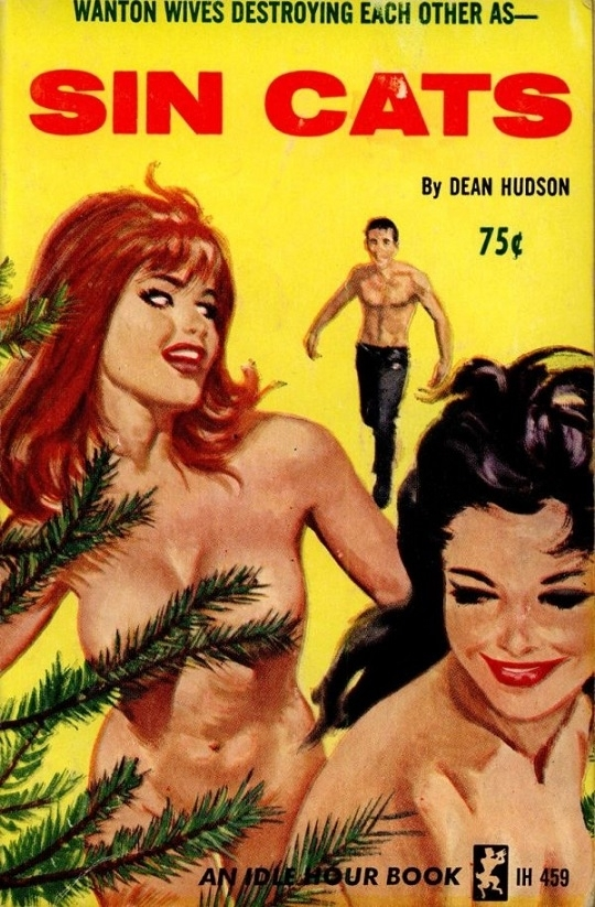 Sin Cats pulp cover