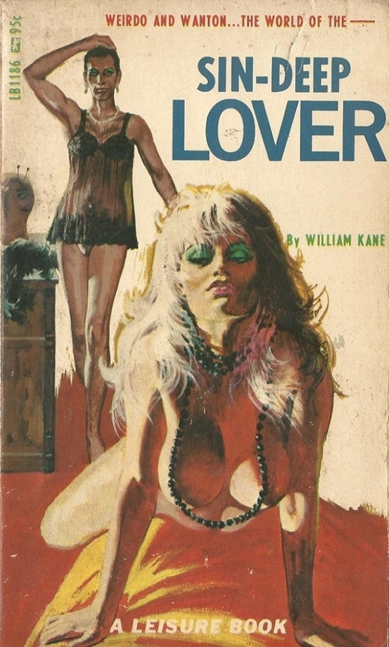 Sin-Deep Lover Pulp Novel