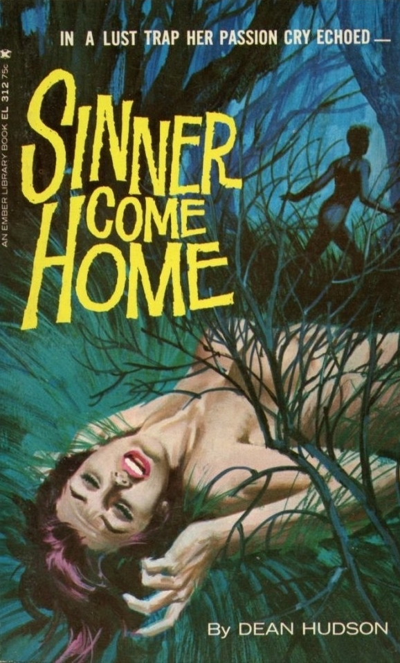 Sinner Come Home Pulp Novel Cover
